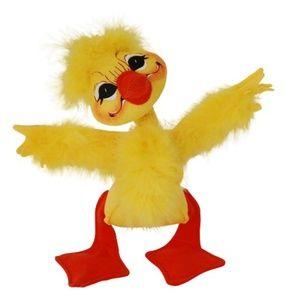 """2014 Annalee 8"""" Fluffy Duck"""